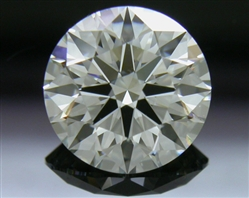 1.302 ct J VS2 A CUT ABOVE® Hearts and Arrows Super Ideal Round Cut Loose Diamond