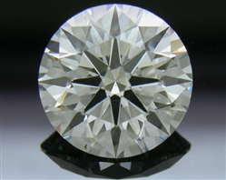 1.245 ct J VS2 A CUT ABOVE® Hearts and Arrows Super Ideal Round Cut Loose Diamond