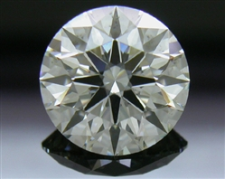 1.312 ct J SI1 A CUT ABOVE® Hearts and Arrows Super Ideal Round Cut Loose Diamond