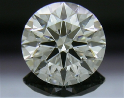 1.34 ct I SI1 A CUT ABOVE® Hearts and Arrows Super Ideal Round Cut Loose Diamond
