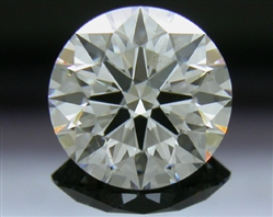 1.375 ct I SI1 A CUT ABOVE® Hearts and Arrows Super Ideal Round Cut Loose Diamond
