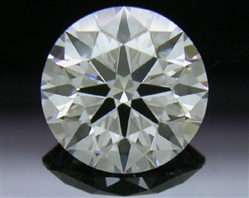 1.216 ct H SI1 A CUT ABOVE® Hearts and Arrows Super Ideal Round Cut Loose Diamond