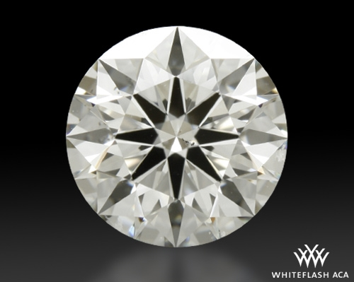 1.303 ct I SI1 A CUT ABOVE® Hearts and Arrows Super Ideal Round Cut Loose Diamond