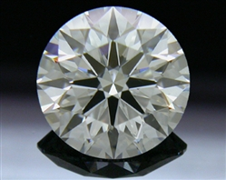 1.116 ct F SI1 A CUT ABOVE® Hearts and Arrows Super Ideal Round Cut Loose Diamond