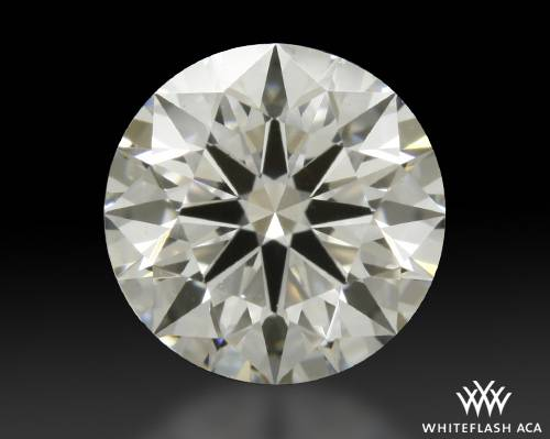 1.038 ct H VS2 A CUT ABOVE® Hearts and Arrows Super Ideal Round Cut Loose Diamond