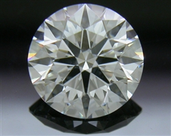 1.071 ct F SI1 A CUT ABOVE® Hearts and Arrows Super Ideal Round Cut Loose Diamond