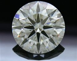1.038 ct G SI1 A CUT ABOVE® Hearts and Arrows Super Ideal Round Cut Loose Diamond