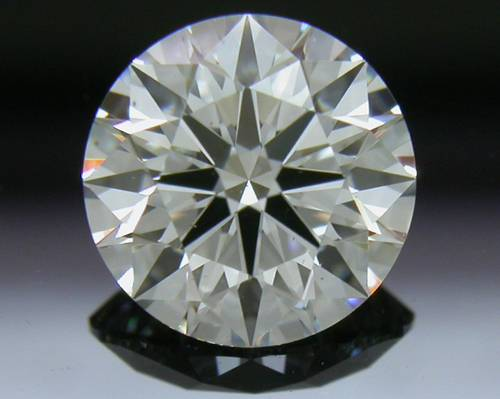 1.01 ct F SI1 A CUT ABOVE® Hearts and Arrows Super Ideal Round Cut Loose Diamond