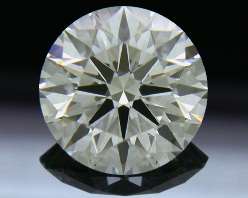 1.057 ct J SI1 A CUT ABOVE® Hearts and Arrows Super Ideal Round Cut Loose Diamond