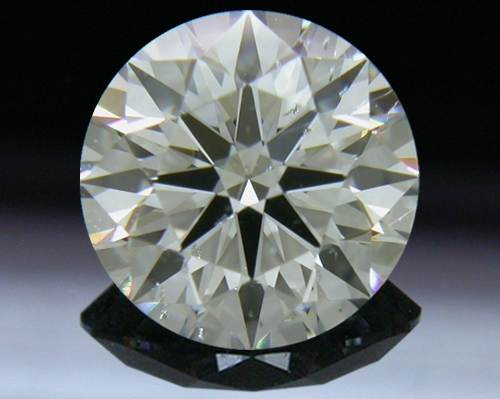 1.075 ct J SI2 A CUT ABOVE® Hearts and Arrows Super Ideal Round Cut Loose Diamond