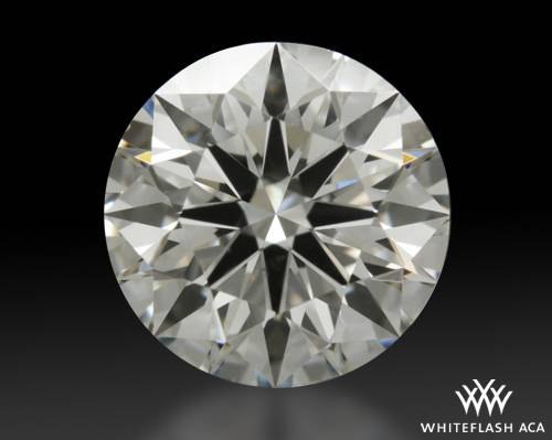 1.014 ct J SI1 A CUT ABOVE® Hearts and Arrows Super Ideal Round Cut Loose Diamond