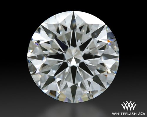 1.005 ct F SI1 A CUT ABOVE® Hearts and Arrows Super Ideal Round Cut Loose Diamond