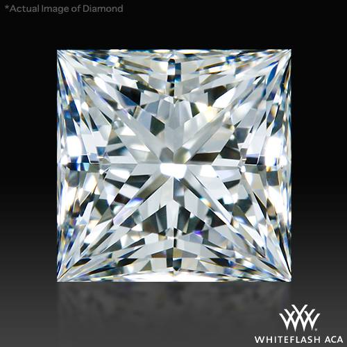 0.852 ct G IF A CUT ABOVE® Princess Super Ideal Cut Diamond