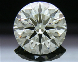 1.706 ct K VS2 A CUT ABOVE® Hearts and Arrows Super Ideal Round Cut Loose Diamond