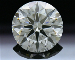 1.083 ct H SI1 A CUT ABOVE® Hearts and Arrows Super Ideal Round Cut Loose Diamond
