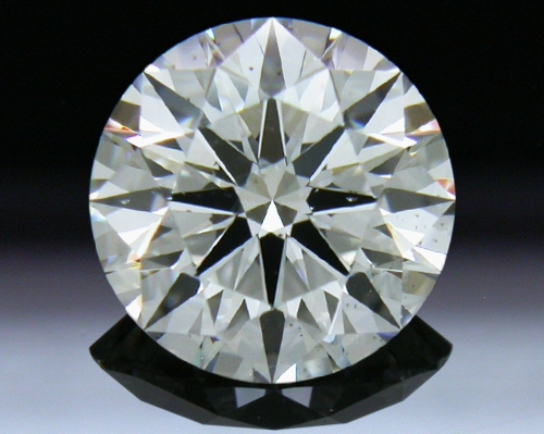 1.128 ct G SI1 A CUT ABOVE® Hearts and Arrows Super Ideal Round Cut Loose Diamond
