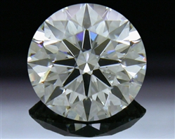 1.058 ct H SI1 A CUT ABOVE® Hearts and Arrows Super Ideal Round Cut Loose Diamond