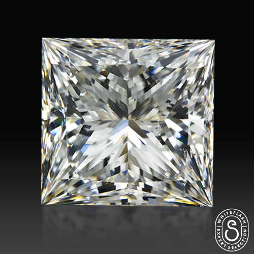 3.08 ct F SI2 Expert Selection Princess Cut Loose Diamond