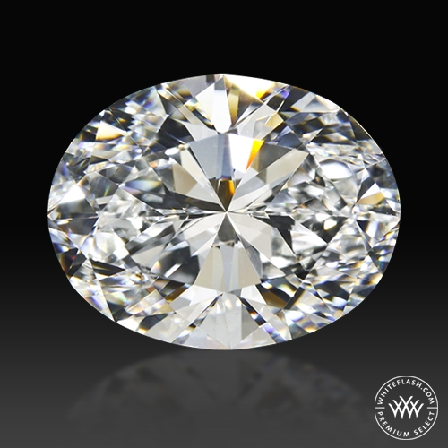 2.51 ct H VS2 Premium Select Oval Cut Loose Diamond