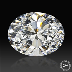 2.51 ct H VS2 Premium Select Oval Cut Loose Diamond