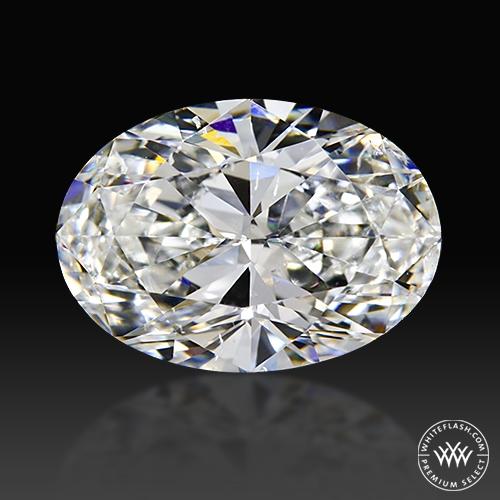 1.58 ct H SI1 Premium Select Oval Cut Loose Diamond