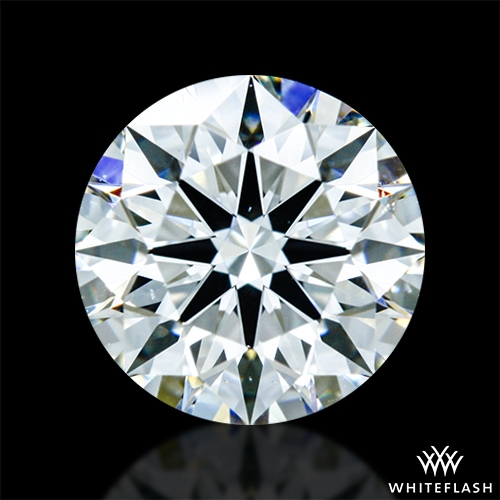 0.906 ct I VS2 A CUT ABOVE® Hearts and Arrows Super Ideal Round Cut Loose Diamond