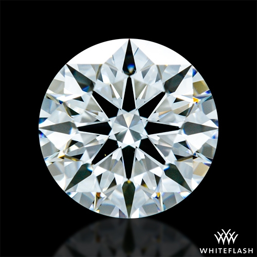 1.016 ct E VS1 A CUT ABOVE® Hearts and Arrows Super Ideal Round Cut Loose Diamond