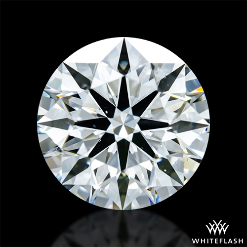 2.016 ct H SI1 A CUT ABOVE® Hearts and Arrows Super Ideal Round Cut Loose Diamond