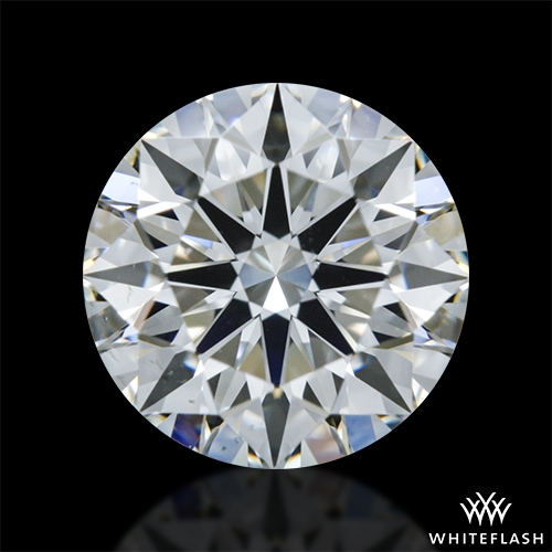 0.886 ct G VS2 A CUT ABOVE® Hearts and Arrows Super Ideal Round Cut Loose Diamond