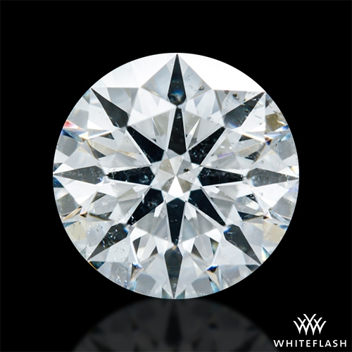 1.026 ct I SI2 A CUT ABOVE® Hearts and Arrows Super Ideal Round Cut Loose Diamond