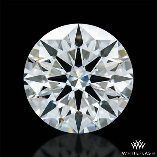 0.908 ct F VS1 A CUT ABOVE® Hearts and Arrows Super Ideal Round Cut Loose Diamond