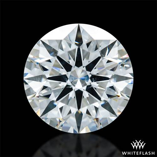 0.923 ct H SI1 A CUT ABOVE® Hearts and Arrows Super Ideal Round Cut Loose Diamond
