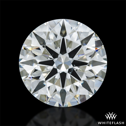 1.034 ct J SI1 A CUT ABOVE® Hearts and Arrows Super Ideal Round Cut Loose Diamond
