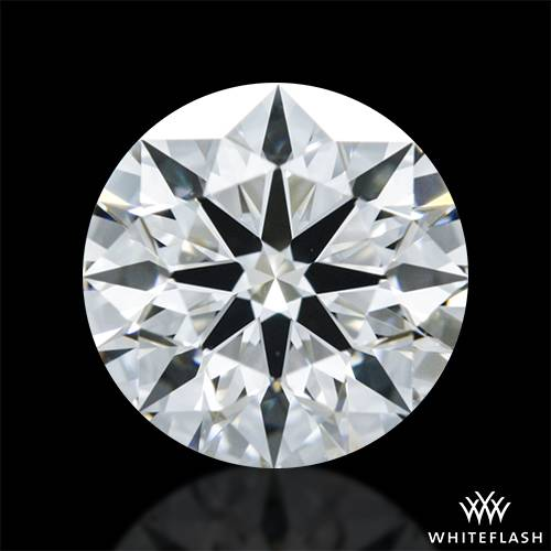 0.70 ct F VS2 A CUT ABOVE® Hearts and Arrows Super Ideal Round Cut Loose Diamond