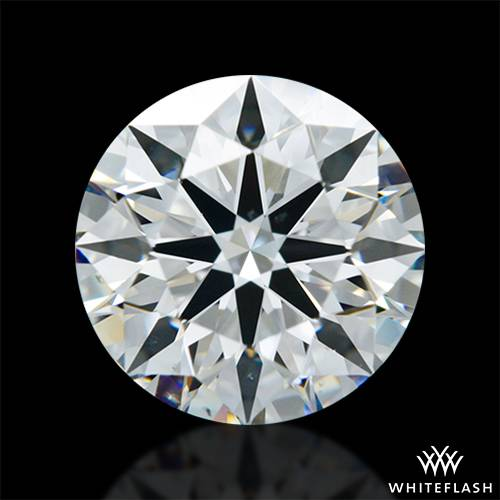 1.313 ct F VS2 A CUT ABOVE® Hearts and Arrows Super Ideal Round Cut Loose Diamond