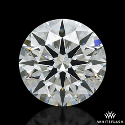 0.943 ct J VS1 A CUT ABOVE® Hearts and Arrows Super Ideal Round Cut Loose Diamond