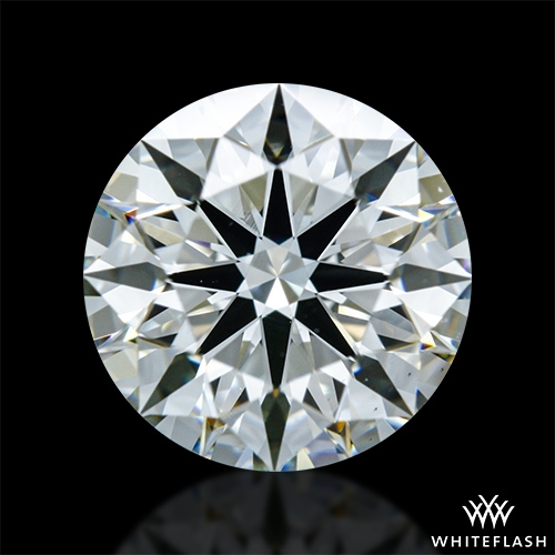 1.306 ct J VS2 A CUT ABOVE® Hearts and Arrows Super Ideal Round Cut Loose Diamond