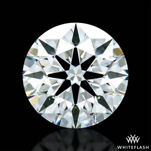 0.437 ct H VS2 A CUT ABOVE® Hearts and Arrows Super Ideal Round Cut Loose Diamond
