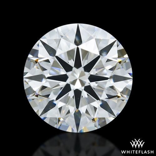 1.144 ct H VS1 A CUT ABOVE® Hearts and Arrows Super Ideal Round Cut Loose Diamond