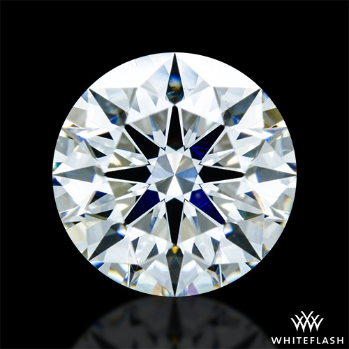 0.801 ct H VS2 A CUT ABOVE® Hearts and Arrows Super Ideal Round Cut Loose Diamond