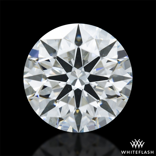0.858 ct G VS1 A CUT ABOVE® Hearts and Arrows Super Ideal Round Cut Loose Diamond