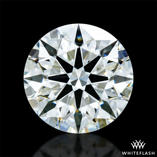 1.318 ct I VS1 A CUT ABOVE® Hearts and Arrows Super Ideal Round Cut Loose Diamond