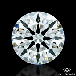 0.434 ct F VS2 A CUT ABOVE® Hearts and Arrows Super Ideal Round Cut Loose Diamond