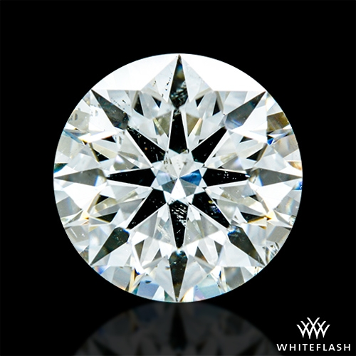 1.575 ct J SI2 A CUT ABOVE® Hearts and Arrows Super Ideal Round Cut Loose Diamond