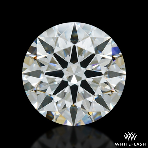 1.074 ct H VS2 A CUT ABOVE® Hearts and Arrows Super Ideal Round Cut Loose Diamond