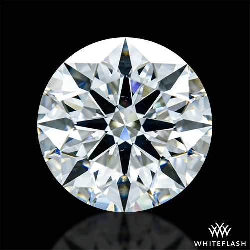 3.098 ct H VS2 A CUT ABOVE® Hearts and Arrows Super Ideal Round Cut Loose Diamond
