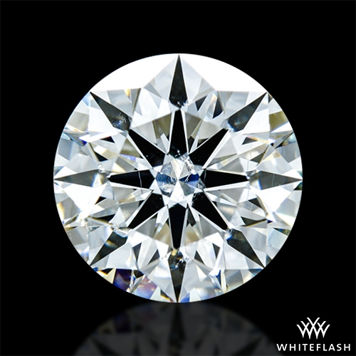 1.818 ct G SI2 A CUT ABOVE® Hearts and Arrows Super Ideal Round Cut Loose Diamond