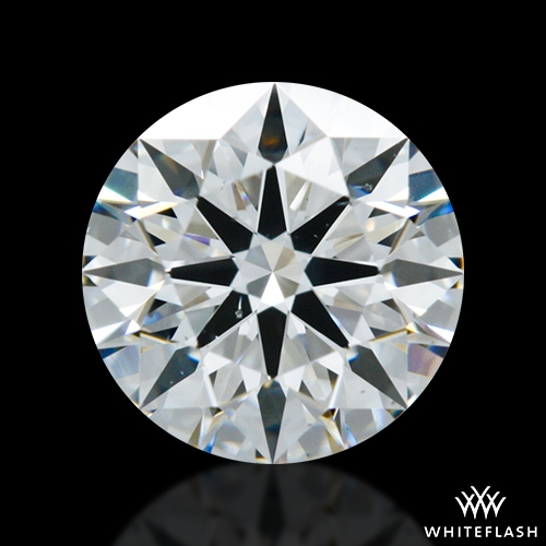 1.088 ct F VS2 A CUT ABOVE® Hearts and Arrows Super Ideal Round Cut Loose Diamond