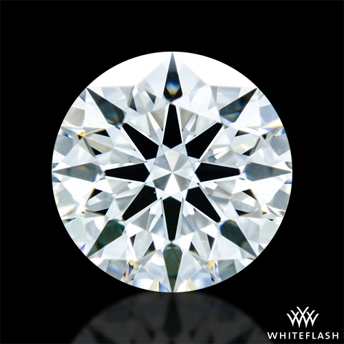 0.417 ct H VS2 A CUT ABOVE® Hearts and Arrows Super Ideal Round Cut Loose Diamond