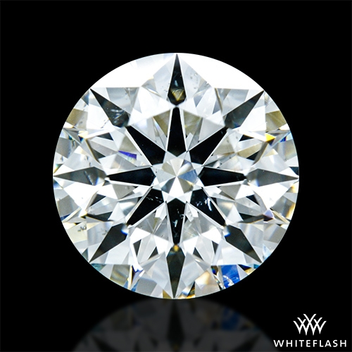 2.07 ct I SI1 A CUT ABOVE® Hearts and Arrows Super Ideal Round Cut Loose Diamond